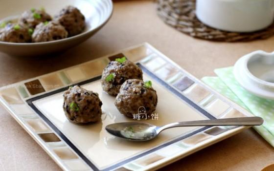清蒸香菇猪肉丸(清蒸菜)
