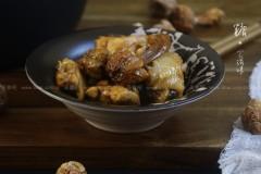 姬松茸焖鸡