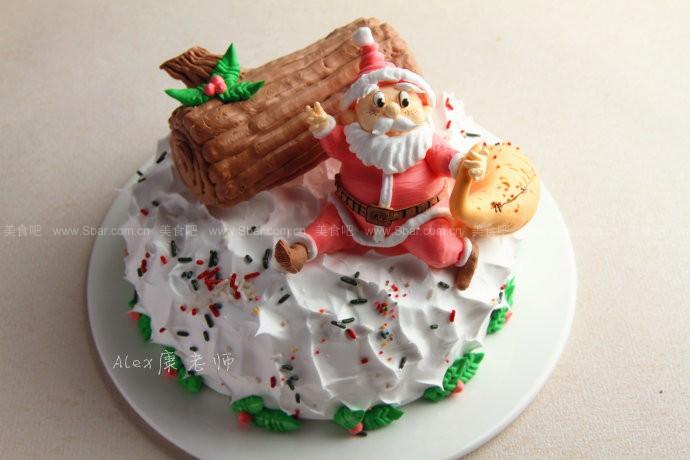 Q萌圣诞老人蛋糕