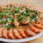 蒜蓉金针菇蒸虾(清蒸菜)