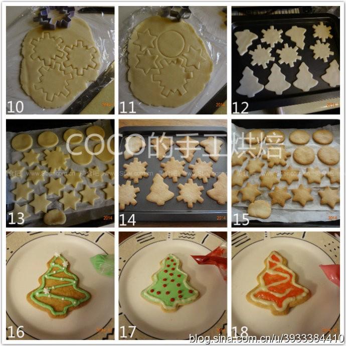 圣诞手绘饼干