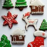 圣诞糖霜饼干(圣诞节甜品点心)