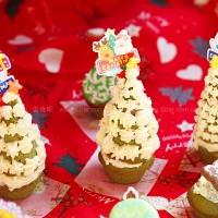 圣诞树小蛋糕