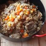 玉米排骨饭(电饭锅食谱)