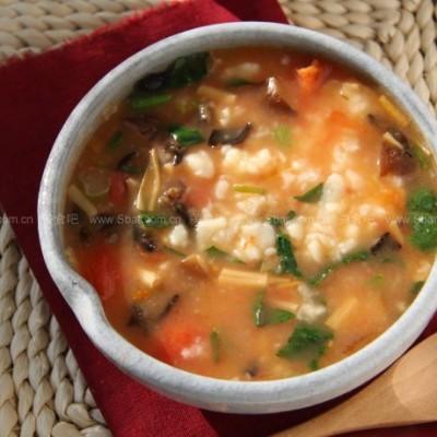 西红柿疙瘩汤、萝卜粉丝汤