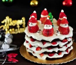 雪人裸蛋糕