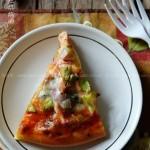 三文鱼牛油果披萨