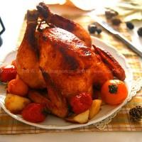 自制中国式圣诞烤鸡