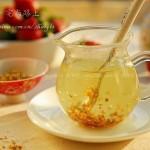 柠檬桂花茶(舒缓情绪醒脑提神)