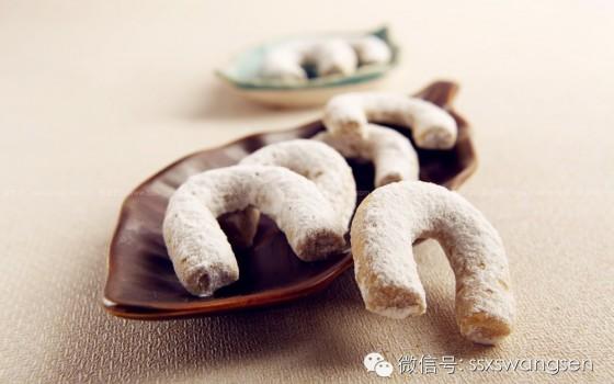 肉桂马蹄饼干(甜品点心)