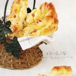 火腿玉米面包条(早餐菜谱)