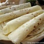 荷叶饼(早餐菜谱)