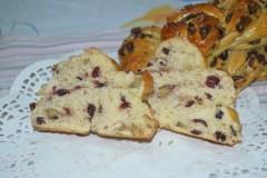 蔓越莓核桃面包