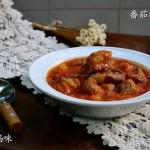 番茄酱焖排骨(自制安全番茄酱)