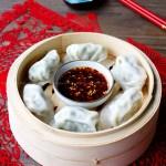 香芹牛肉馅饺子(早餐菜谱)