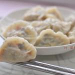 鸡蛋胡萝卜饺子(素馅饺子)