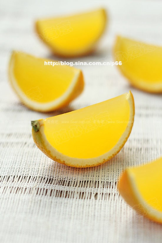 水晶橙子果冻