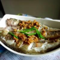 清蒸橄榄鱼
