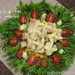 鸡肉玉米沙拉(低脂食谱)