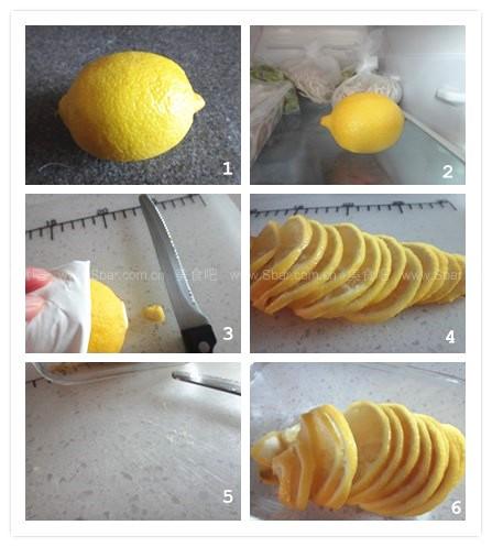 巧切柠檬片