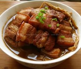 红烧肉金针菜