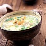 花蛤豆腐羹(补钙汤羹)