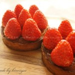 草莓杏仁塔(甜品点心)