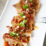 鱼香煎鸡腿(川菜)