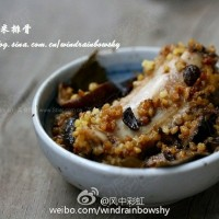 荷香小米蒸排骨