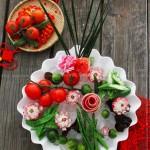 春色满园蔬菜拼盘(年夜饭-创意蔬菜拼盘)