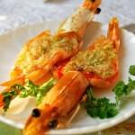 蒜蓉烤虾(年夜饭)