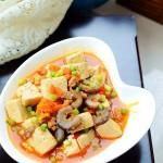海参烧豆腐