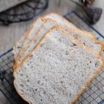 黑麦核桃吐司(面包机食谱)
