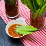 蘸汁油麦菜