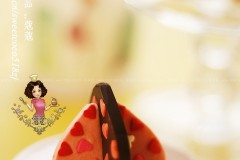 3D立体心形巧克力