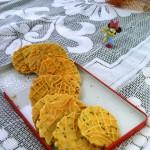 浓香芝麻蛋黄饼