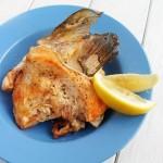香烤三文鱼头
