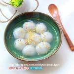 芝麻松仁汤圆(元宵节美食)