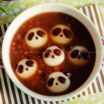 熊猫红豆汤圆