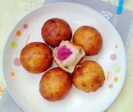 香炸紫薯汤圆