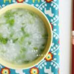 青菜粥(清理肠胃)