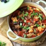 蔬菜牦牛肉锅(年后消耗蔬菜的小火锅)