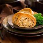 五香熏素鸭(经典斋菜)