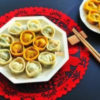 三鮮元寶餃子