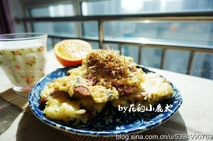 香煎海苔饼