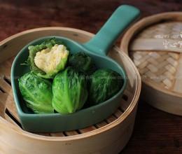 青菜糯米包饭