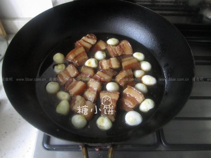 鹌鹑蛋红烧肉