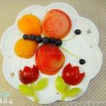 水果拼盘(小蝴蝶果盘)