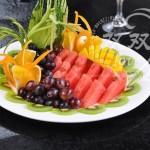 水果拼盘(水果的切割)
