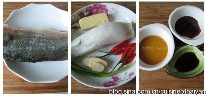 小米椒浇汁鲈鱼